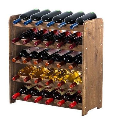 Stojan na víno stojan, polica RW-3-30 farba DARČEK