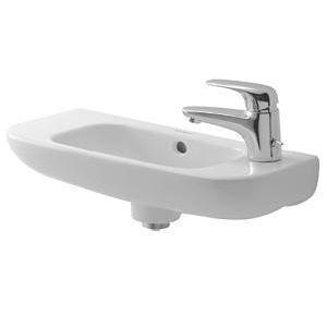 Umývadlo Duravit D-Code Malé nástenné umývadlo 50x22 cm