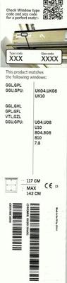 маркиза VELUX MHL UK00 5060 Г 117x142 см