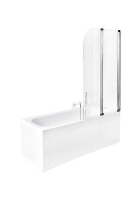 Sprchové dvere - BESCO VLASOVÉ KOTLE AMBITION 2 CHROME 80x140