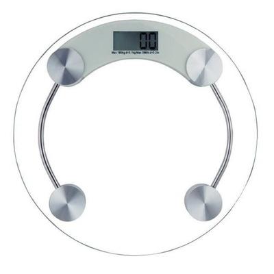 Вес ВЕСЫ ЖК весы ЗАКАЛЕННОЕ стекло 180 кг