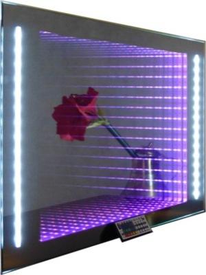 2w1B 53x70 зеркало 3D подсветка LED RGB пульт