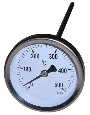 Termometr analogowy 0+500stC sonda 150mm *