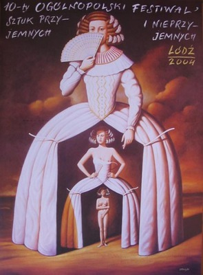 Плакат - Фестиваль штук ... - Olbiński