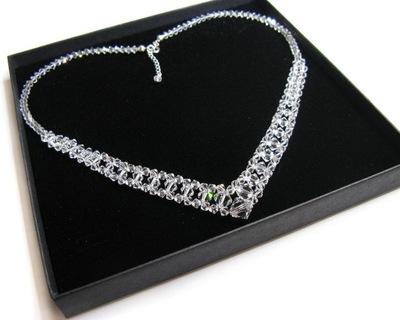 Naszyjnik z kryształów Swarovski Crystal Bix01