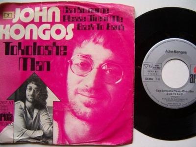JOHN KONGOS - TOKOKOLOSHE MAN - CAN SOMEONE