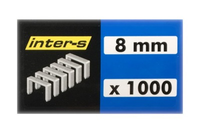 СКОБЫ Степлера такера tackera 8 мм 1000 штук
