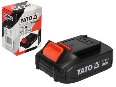 YATO BATÉRIA 18V 2.0 Ah Li-Ion YT-82842