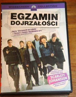 EGZAMIN DOJRZAŁOŚCI        DVD