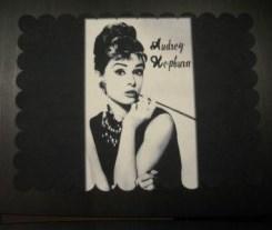 Podkładka na stół Audrey Hepburn, 30 x 35 cm, NOWA