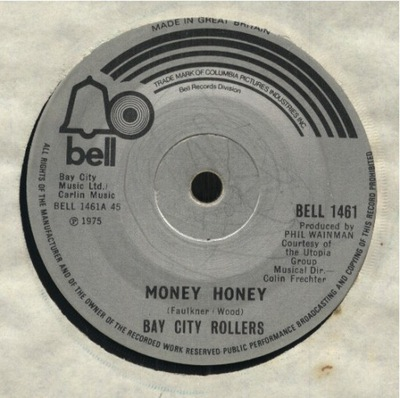 BAY CITY ROLLERS - MONEY, HONEY - MARYANNE (UK)