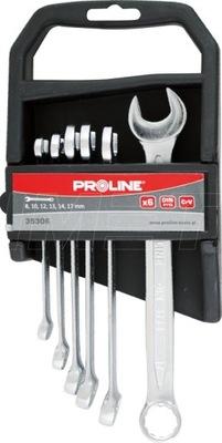 Kombinovaný kľúč 8-17mm 6cz PROLINE 35306