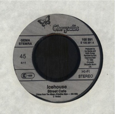 ICEHOUSE - STREET CAFE - WALLS