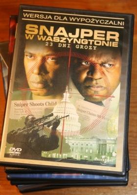 SNAJPERZY W WASZYNGTONIE      DVD