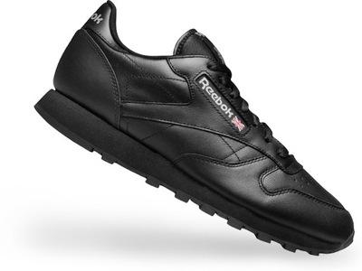 f7f8cc73 ... Buty Reebok CLASSIC LEATHER 2267 All Black # 43 ...