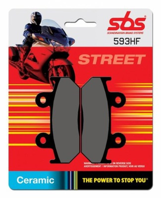 SBS KLOCKI HONDA CB 450 86-88,CBR 500/600F 87-90