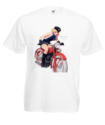 Indian grafika motocykl modny tshirt
