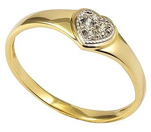 Wyjątkowy Złoty Pierścionek Zaręczynowy8kcena 5596145585