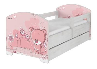 OSKAR posteľ X BABY BOO 160 X 80 box