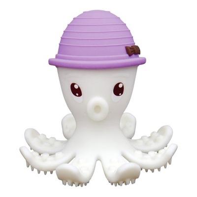 Mombella Teether Hračka Octopus Lila