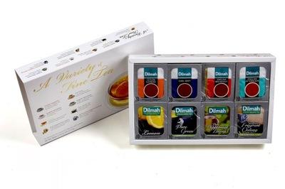 Dilmah АЛЫЕ БОНБОНЬЕРКА Variety of Fine Tea