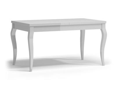 ?????????? стол Белый Черный ВЫСОКИЙ блеск гламур