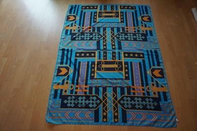 4b7070846dcef Duża chusta apaszka ręcznie malowana wzór wypukły 7629001058 ...