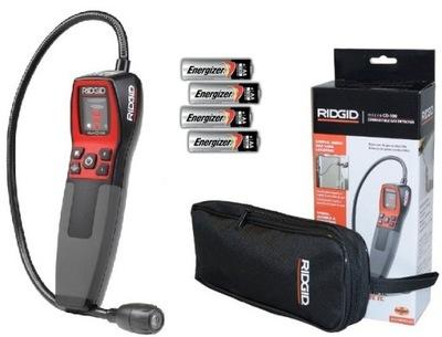 RIDGID CD-100 plynu DETEKTOR + PRÍPADE