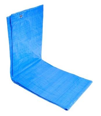 Krycia plachta - Celta - Plachta 6x8m modrá silná super kvalita 75g