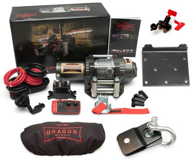 ЛЕБЕДКА DRAGON WINCH DWH4500HD HIGHLANDER 2,2 Т