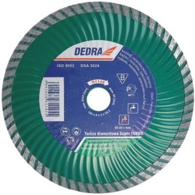 Rezací kotúč - DEDRA DIAM DISC. SUPER TURBO 125 mm / 22,2 mm H1143