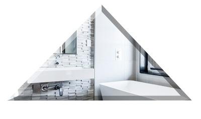 плитки Плитки Зеркальные треугольник 30x30x42 фаза 1 см