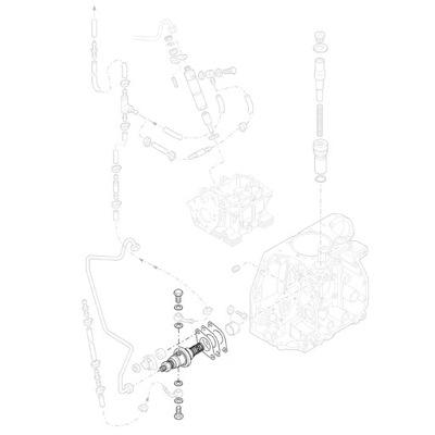 HATZ 01864302 тнвд 1D41 NPFE1QLC65-204