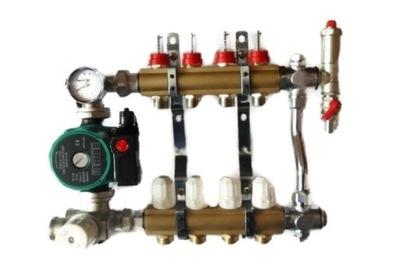 7 zmiešavacie potrubie s termostatickým ventilom