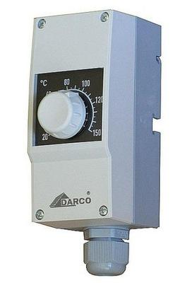 TERMOSTAT NA DARCO , nastaviteľné od 20 do 150 ° C