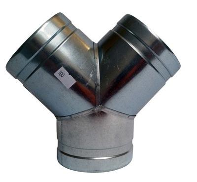 Tee Y 3x50 kapota, hadica, filter, spiro