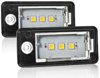 ЛАМПОЧКИ LED (СВЕТОДИОД ) ПОДСВЕТКА AUDI A4 B6 B7 A6 C6 A3 8P