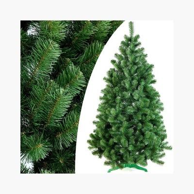 Vianočný stromček - KRÁSNY Umelý STROM, SMREK LENA 220 CM, AKO žiť