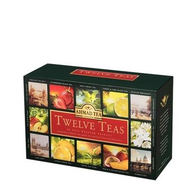 Ahmad Tea London Twelve Teas 12 Smakow Herbata 7224596967 Oficjalne Archiwum Allegro