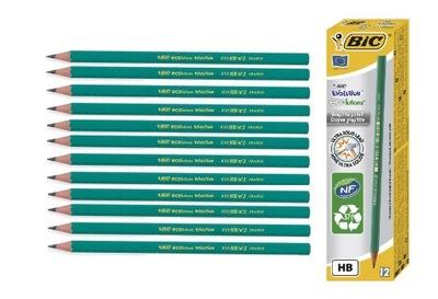 Ołówek BIC Evolution HB 650 12 sztuk ECO