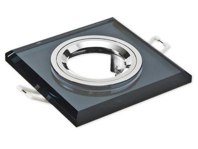 Галогенный прожектор LED квадрат СТЕКЛО стабильная черная