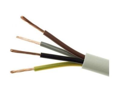 Kábel H05VV-F (OWYżo) 4x1,0 100m na záclony