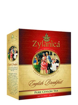 ZYLANICA ENGLISH BREAKFAST 100 T - ГЕРБ. экспресс