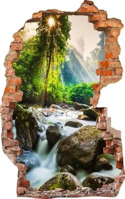 наклейки на стену фото обои 3d Дыра MAXWYBÓR