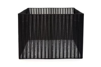Tienidlo Tienidlo Čierny Štvorec 20 × 20 × 20 cm