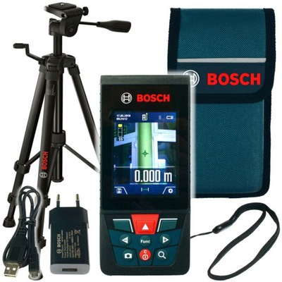 ЛАЗЕРНЫЙ ДАЛЬНОМЕР GLM 120 C Bosch + ШТАТИВ BT Сто пятьдесят
