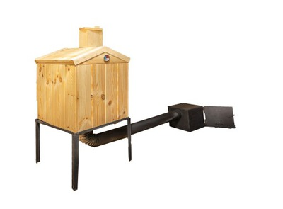 КРУПНЕЙШАЯ коптильня для сада деревянная комплект эко