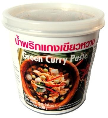 Тайская паста Curry зеленый 400г Lobo Green Острая