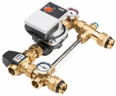 Systém miešanie ventil 3-d a čerpadlo Wilo