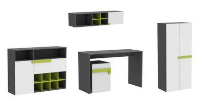 комплект мебель молодежные ЛУГО E
